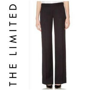 Limited Navy Side Zip Wide Legged Cassidy Pants